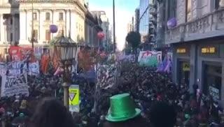 Aborto Legal: el festejo de las mujeres luego de la media sanción en Diputados