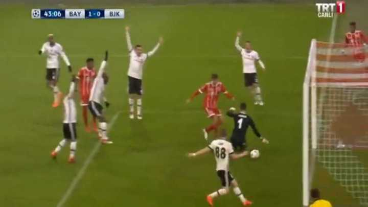 Bayern Munich 1 - Besiktas 0