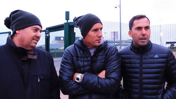 Declaraciones exclusivas de los periodistas agredidos en Manchester