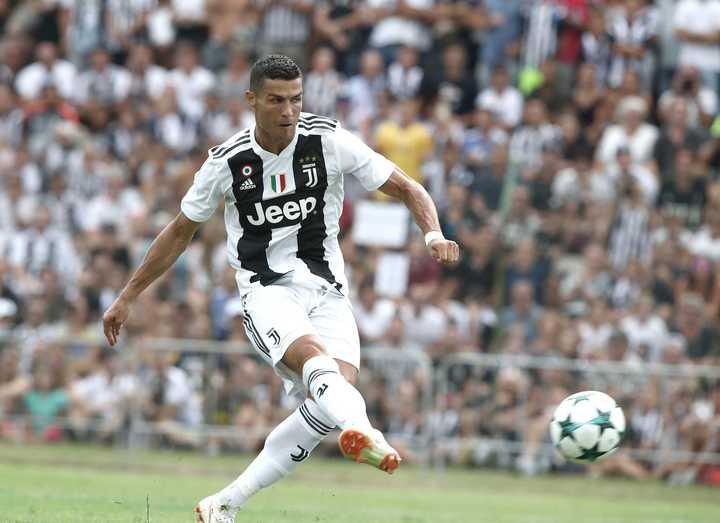 Primer gol de Cristiano en Juventus