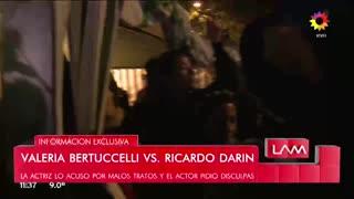 ión de Valeria Bertuccelli al consultarle por las disculpas de Ricardo Darín. En LAM
