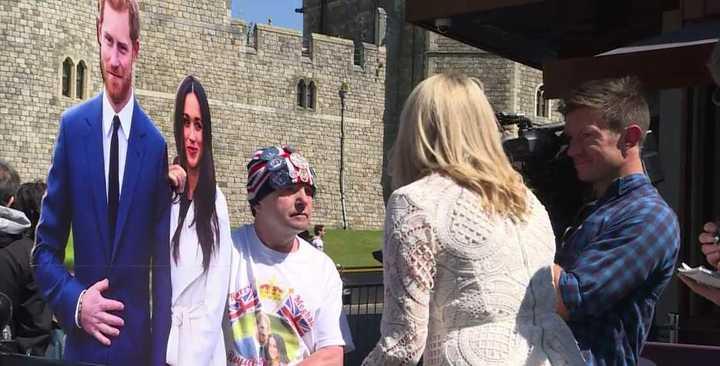 El furor por el casamiento de Meghan Markle y el príncipe Harry