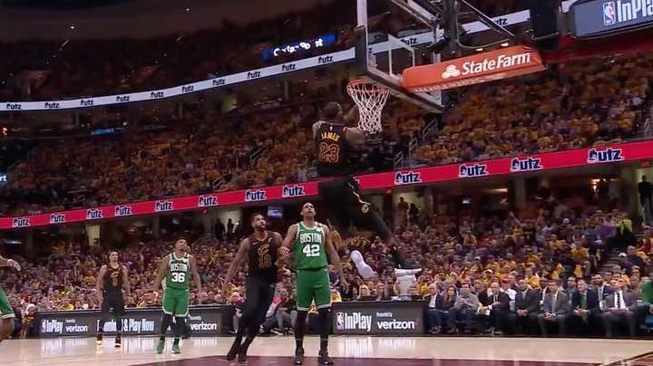 Las mejores jugadas de LeBron James en las Finales de la Conferencia Este de la NBA