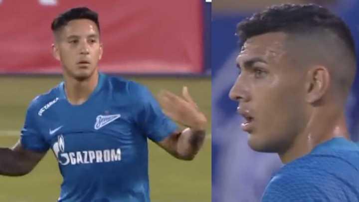 Los dos goles de los argentinos para la salvada del Zenit