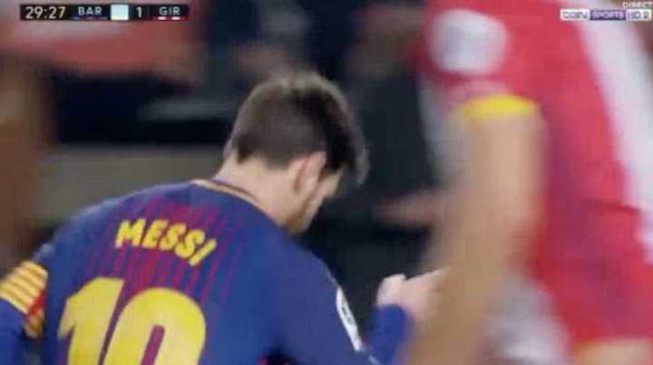 Barcelona 2 - Girona 1.