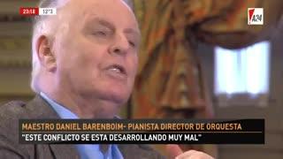 Daniel Barenboim sin filtro - Parte 2. El director y pianista habló con Luis Novaresio y no dejó tema sin abordar.