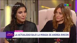 La tremenda confesión de Andrea Rincón.