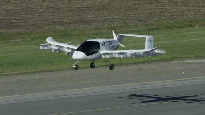 Gurú de Google prueba taxis voladores en Nueva Zelanda
