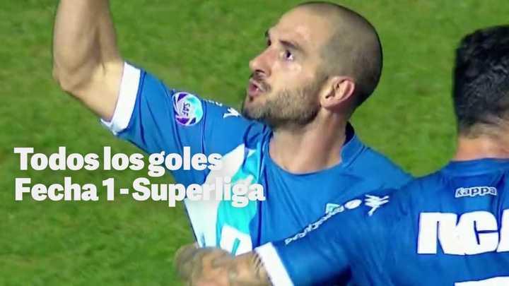 Todos los goles, Fecha 1 - Superliga