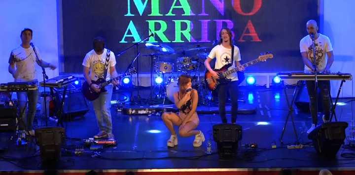 La cumbia pop de Mano Arriba, en Espacio Clarín