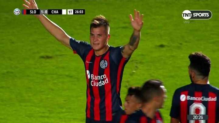 San Lorenzo 1 - Chacarita 0