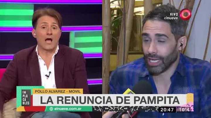 Daniel Gómez Rinaldi estalló contra Pampita Ardohain