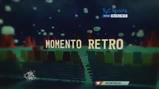 El día del debut de Agüero en Independiente.