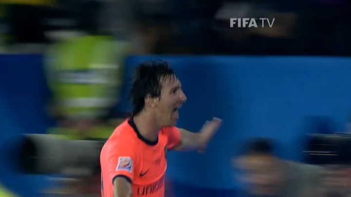 Messi, la pesadilla de los equipos argentinos