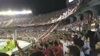 Los hinchas de River cantaron contra Mauricio Macri