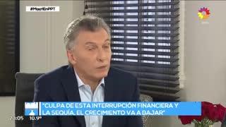 Mauricio Macri con Jorge Lanata 6 (eltrece)