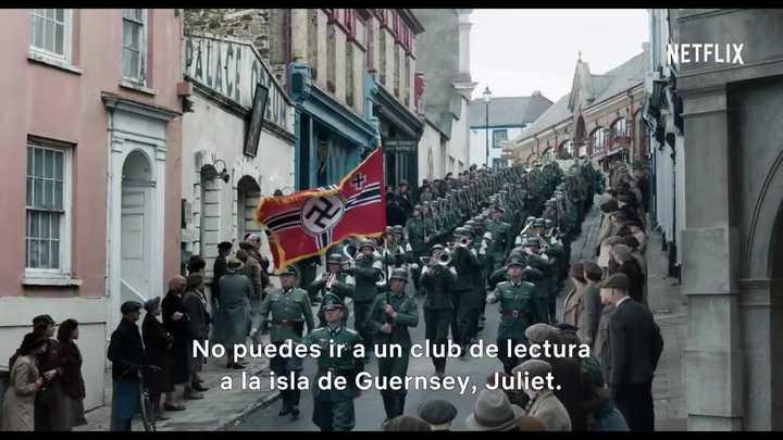 """Trailer de """"La sociedad literaria y del pastel de cáscara de papa de Guernsey"""""""