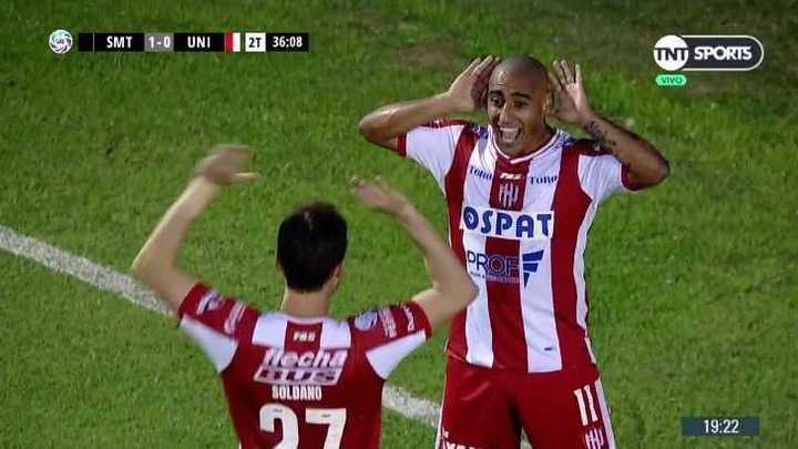 Diego Zabala metió el gol del empate