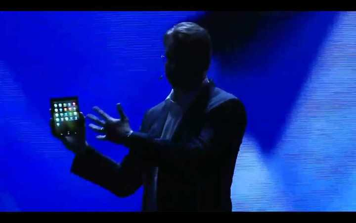 Samsung presentó el Infinity Flex Display