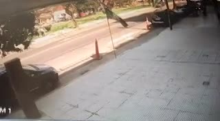 Así mataron a un militar en Villa Devoto.