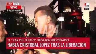 """López: """"Los Kirchner no tiene amigos"""""""