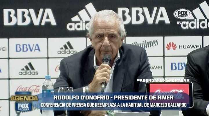 """""""Es un disparate relacionar a Macri con el fútbol"""""""