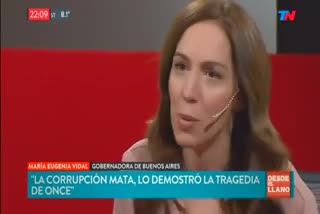 María Eugenia Vidal en Todo Noticias 1