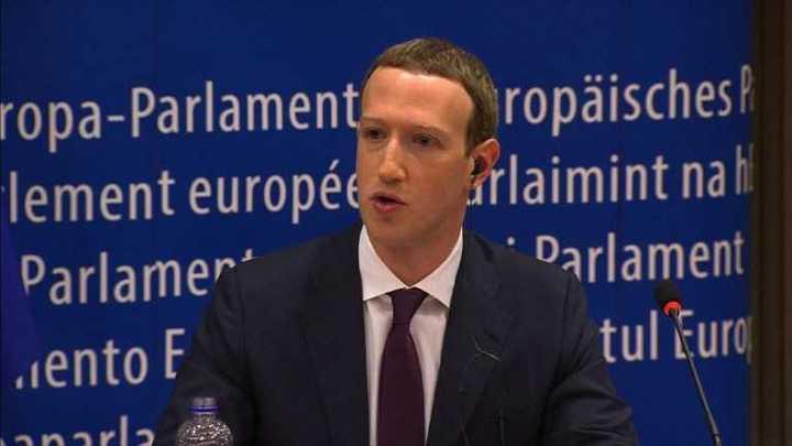 Fundador de Facebook declara en Eurocámara por escándalo de Cambridge Analytica