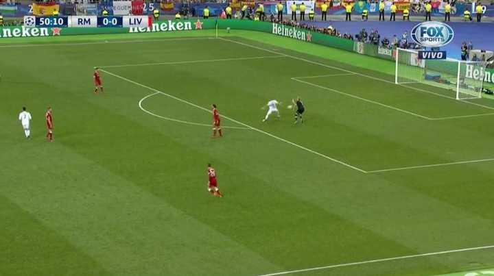 Real Madrid 1 - Liverpool 0