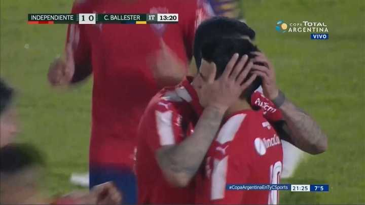 Independiente 2 - Central Ballester 0