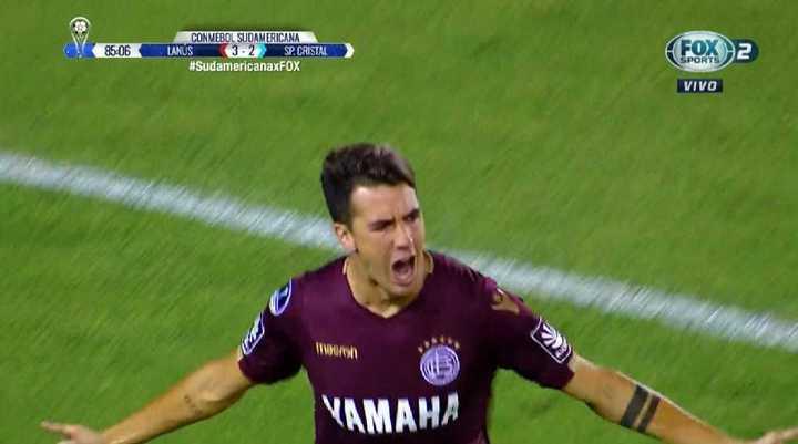 Lanús 4 - Sporting Cristal 2