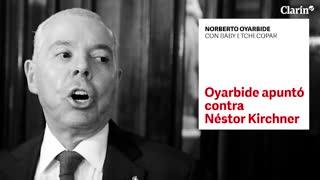El temor de Oyarbide a que lo maten