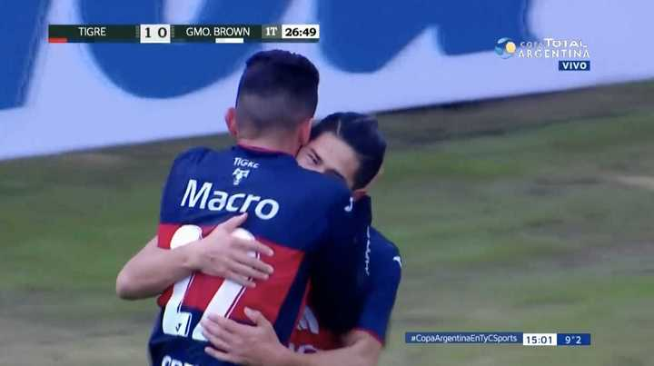 Tigre 1 - Guillermo Brown 0