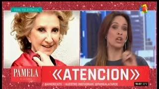 """Norma Aleandro en """"Pamela a la tarde"""" Parte 2"""