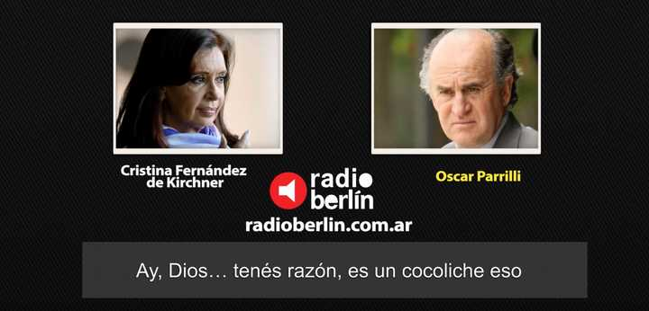El diálogo entre Cristina Kirchner y Oscar Parrilli donde se ríen de Milani y Moreno