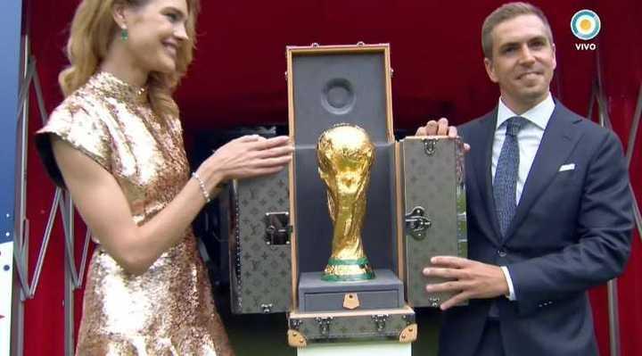 La Copa del Mundo llegó al estadio