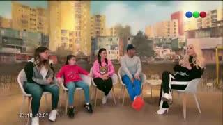 Susana Giménez habló en inglés con las hijas de Carlos Tevez.