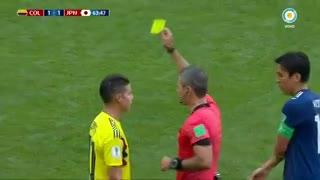 Barrios pegó y se llevó una amarilla