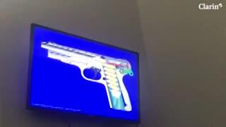 Así funciona el arma 9 milímetros con la que Nahir asesinó a Pastorizzo