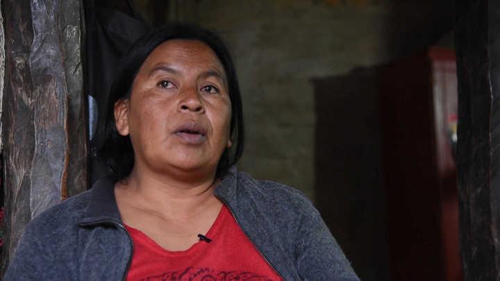 Olga Aparicio, la referente qomle´ec que representa a la mujer rural en el G20
