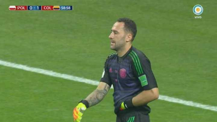 Ospina se la sacó a Lewandowski - Mundial Rusia 2018