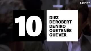 10 de De Niro que no te podés perder