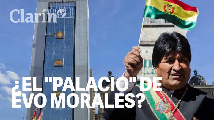 """La """"Casa Grande del Pueblo"""" para unos, el """"Palacio de Evo"""" para otros: El edificio que divide a los bolivianos"""