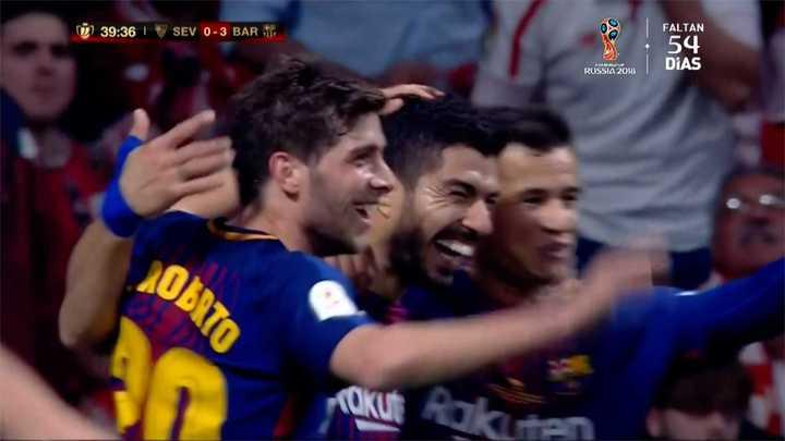 Barcelona 3 - Sevilla 0