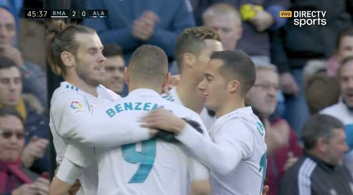 Real Madrid 2 - Alavés 0