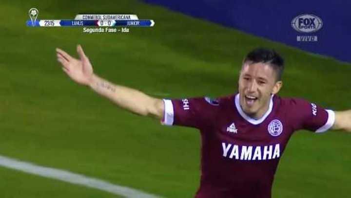 Lanús 1 - Junior 0