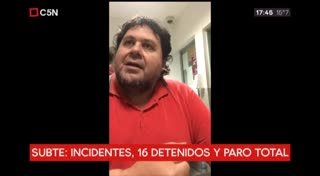 Habló Néstor Segovia desde la comisaría (C5N)