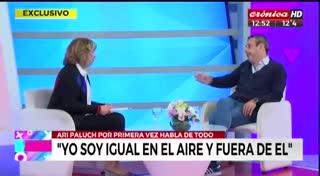 Ari Paluch rompió el silencio en Crónica TV. Parte 2