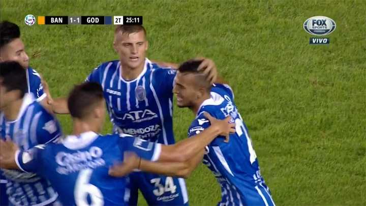 Banfield 1 - Godoy Cruz 1