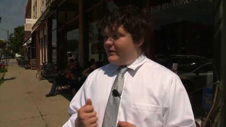 El insólito caso del chico de 14 años que quiere ser gobernador en EE.UU. (pero no puede votar)